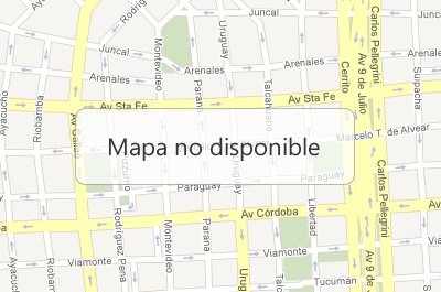 Mapa no disponible